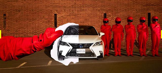 Lexus CT Trick 2