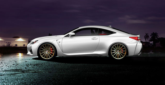Lexus RC F Vossen Precision Forged
