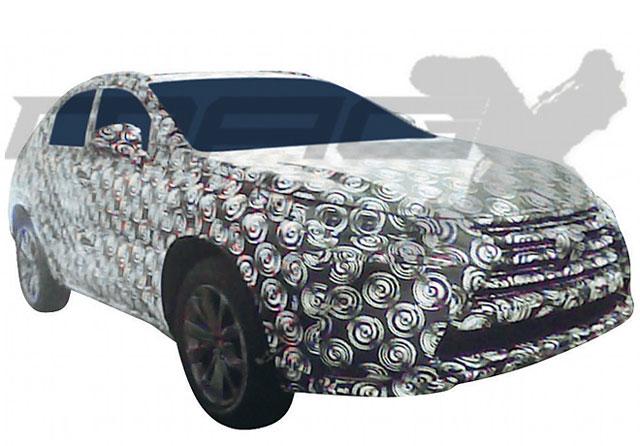 Lexus NX Prototype Spotted