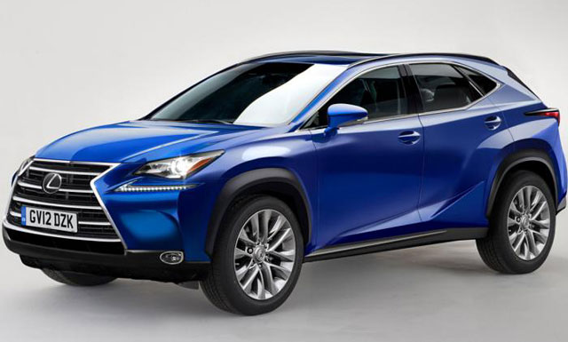 Lexus NX Rendering from Auto Express
