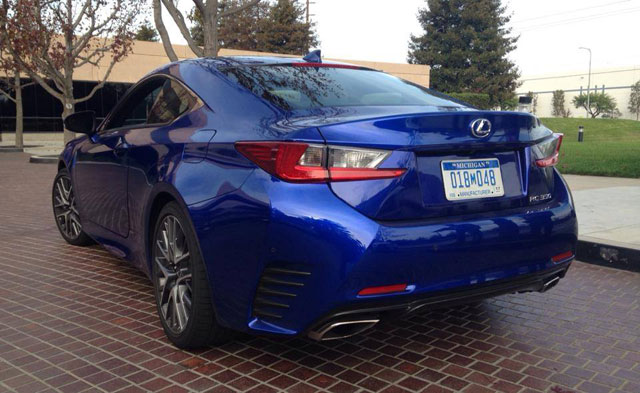 Lexus RC 350 F SPORT Rear