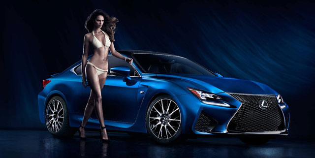 Lexus RC F Sports Illustrated Swimsuit Issue