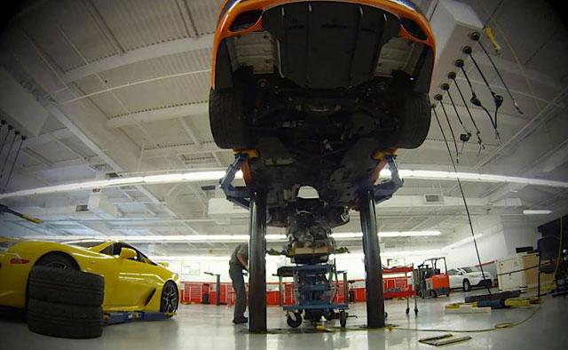 Lexus IS F CCS-R Engine Swap