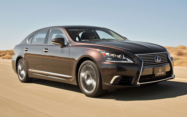 Lexus LS in the Middle East