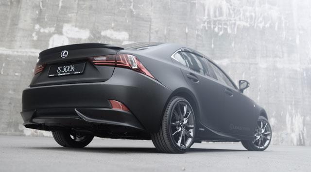 Lexus IS Matte Black Trondheim