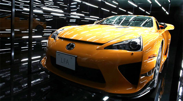 Lexus LFA Art Exhibit