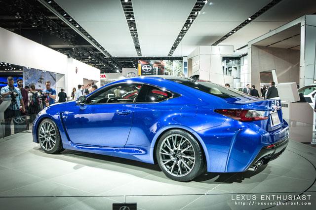Lexus RC F Closing