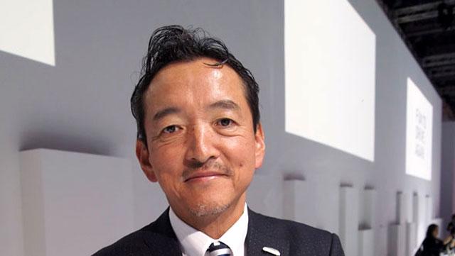 Lexus International President Tokuo Fukuichi