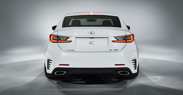 Lexus RC F SPORT Rear