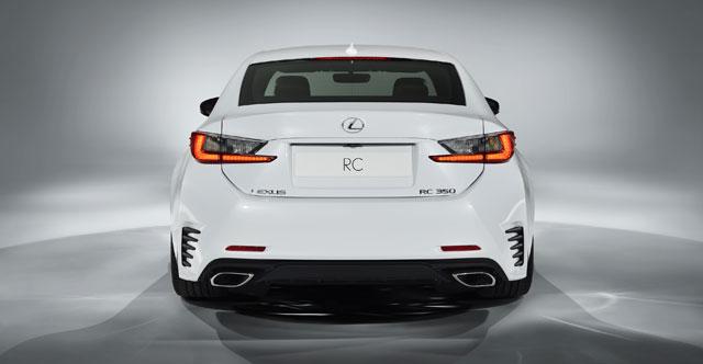 Lexus RC F SPORT Rear