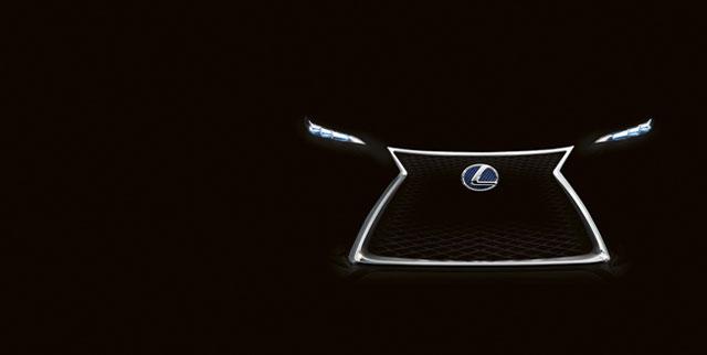 Lexus LF-NX Teaser