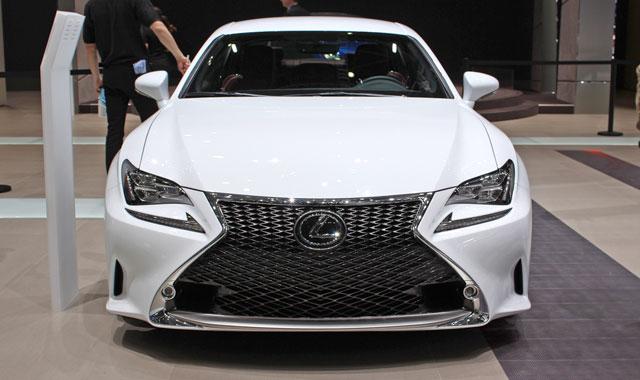 Lexus RC F Lead Image