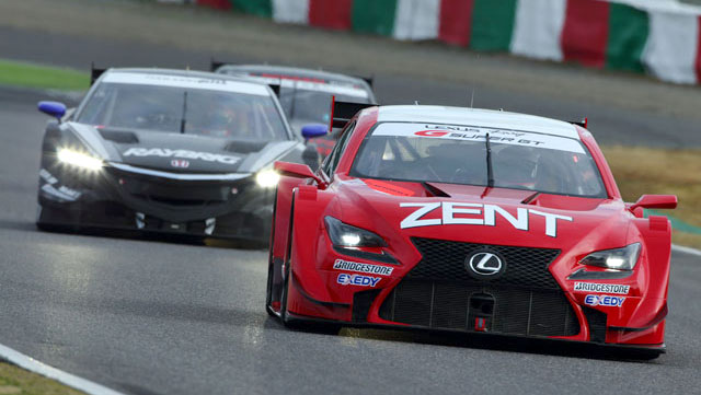 Lexus RC F GT 500 Racing Testing