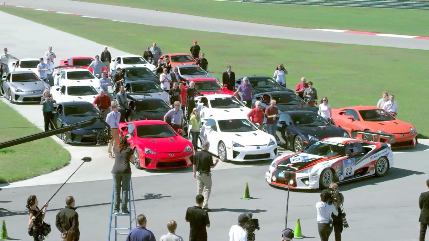 Lexus LFA All Together