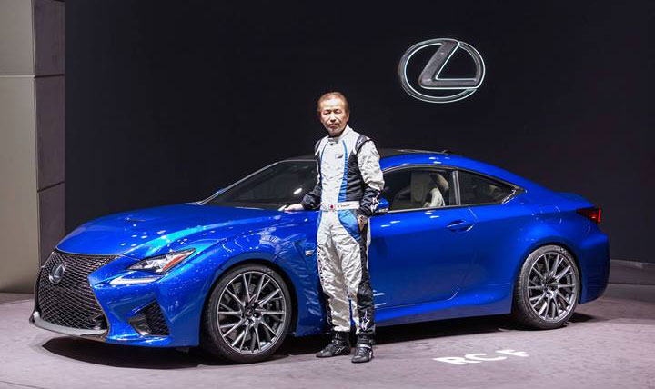 Lexus RC F Chief Engineer Yaguchi in Full