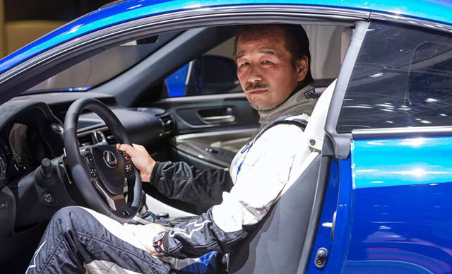 Lexus RC F Chief Engineer Yukihiko Yaguchi