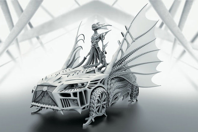 Lexus CT Dragon Dress