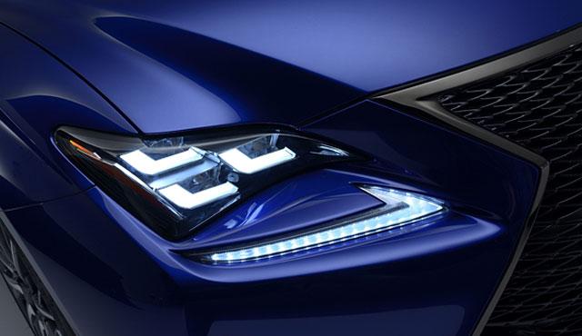 Lexus RC F Video from UK