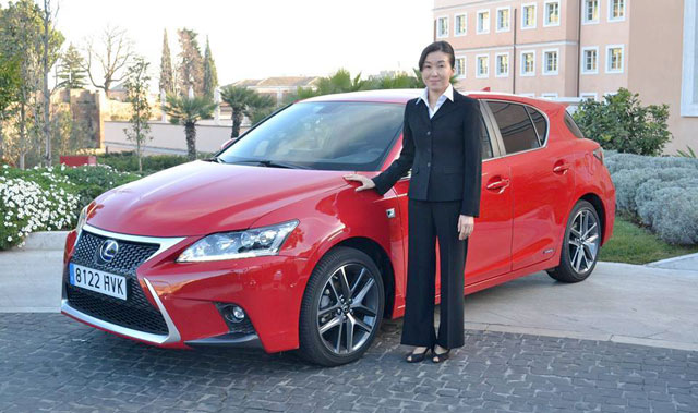 Lexus CT Chief Engineer Chika Kako