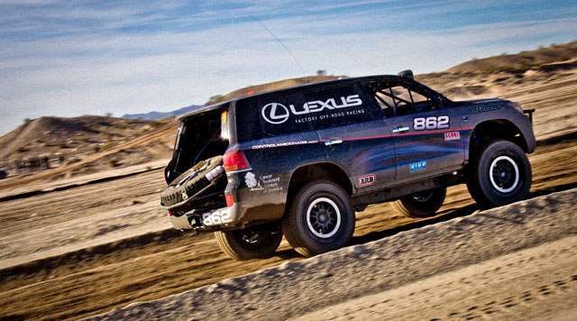 Lexus LX Racer Joe Bacal