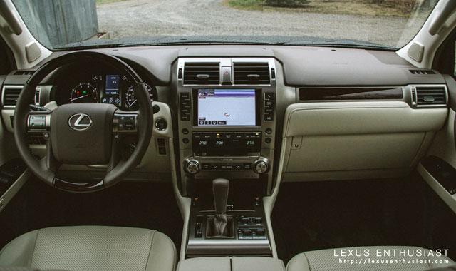 Lexus GX 460 Interior 2014