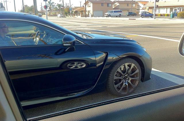 Lexus RC F Black Wheel Front