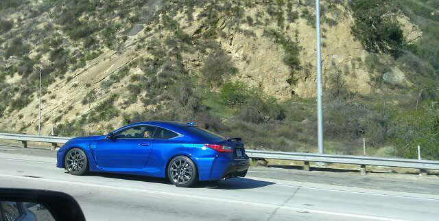 Lexus RC F Ultrasonic Blue