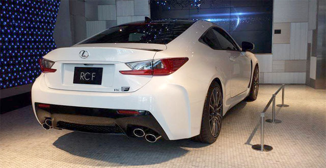 Lexus RC F Carbon Fiber Package