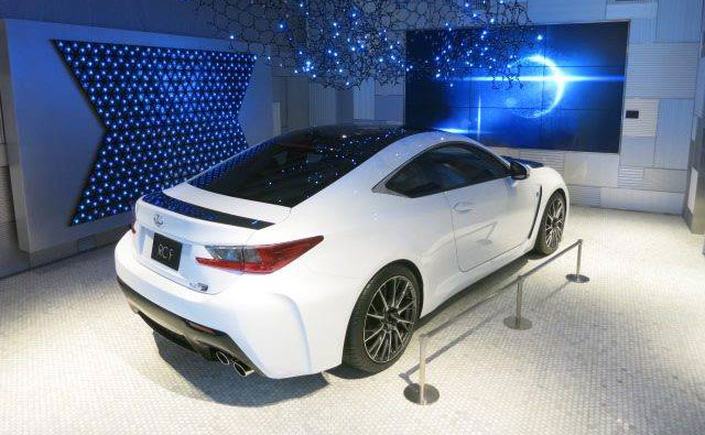 Lexus RC F Carbon Fiber Rear Front
