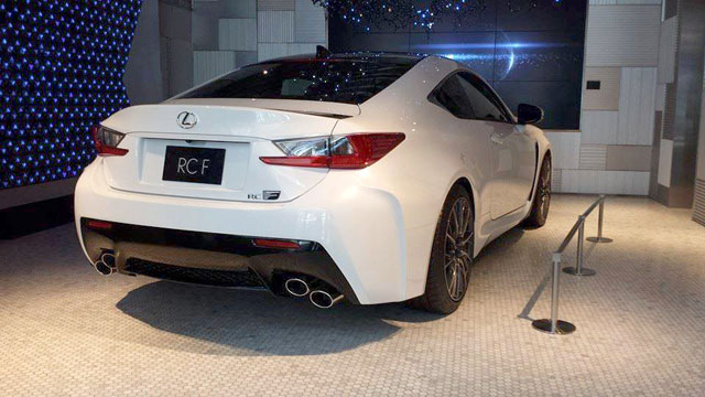 Lexus RC F Carbon Fiber Rear