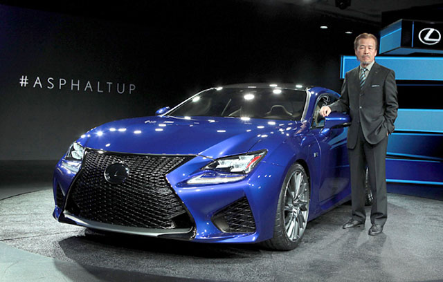 Lexus RC F Chief Engineer Yaguchi
