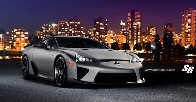 Lexus LFA in Matte Silver