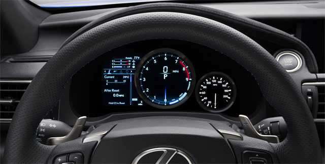 Lexus RC F Instrument Panel