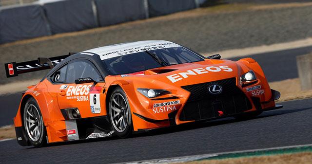 Lexus RC F GT500 Eneos Team