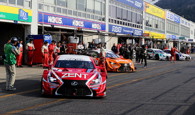 Lexus GT 500 RC F Teams