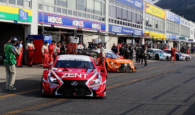 Lexus GT 500 RC F Teams