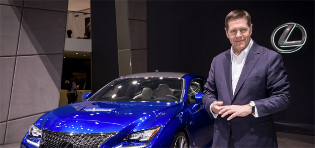 Lexus International Vice President Mark Templin