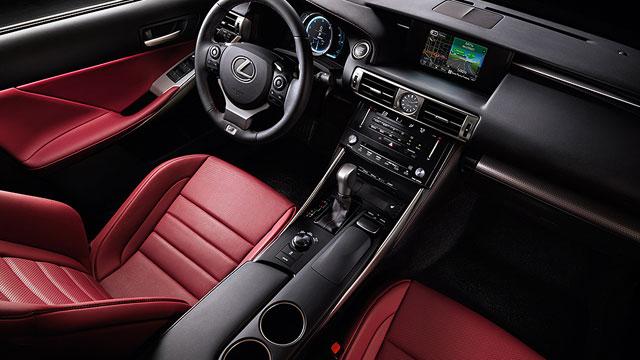 Lexus IS Interior Wards Auto Awards