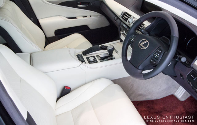 Lexus LS L-Select Japanese Modern