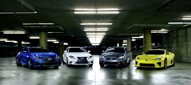 Lexus F Family