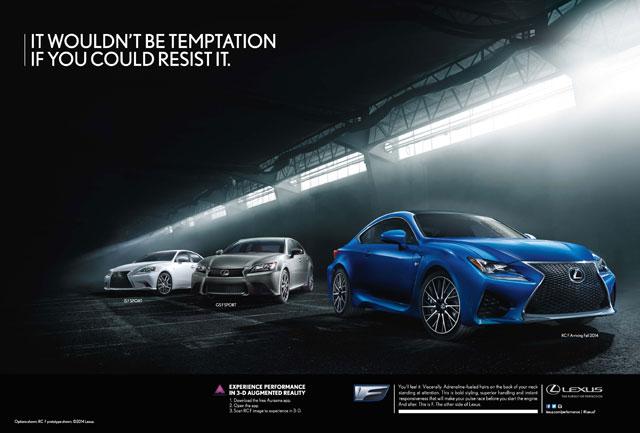 Lexus F Performance Print Ad