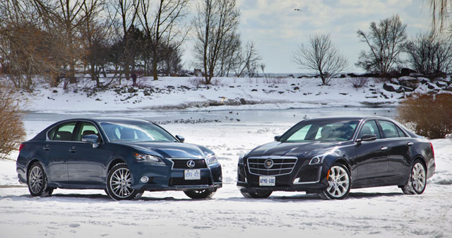 Lexus GS 350 AWD vs Cadillac CTS 3.6 AWD