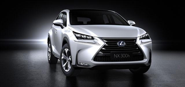 Lexus NX Front