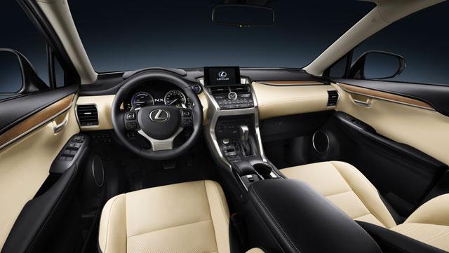Lexus NX Interior 2
