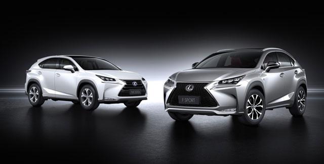 Lexus NX & NX F SPORT