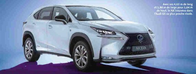 Lexus NX Revealed