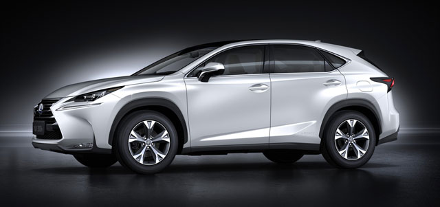 Lexus NX Side Profile