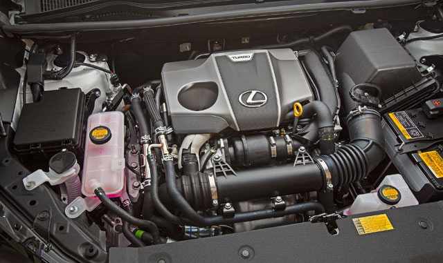 Lexus NX 200t Turbo Engine