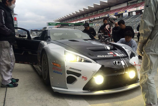 Lexus LFA Code X Race Car