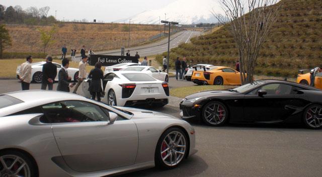 Lexus LFA Hero Image Owners Club